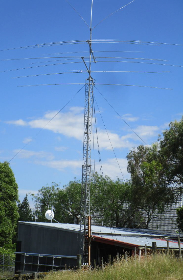 Antennas Am Planning On Wiring My New Shed Soon But Need To Check I Doing 2017 Xmas Day Tower 740
