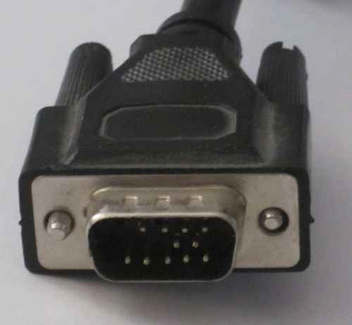 VGA cable de-pinned